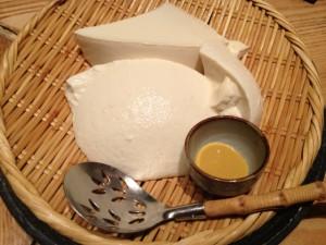 ざる豆腐+ごまだれ